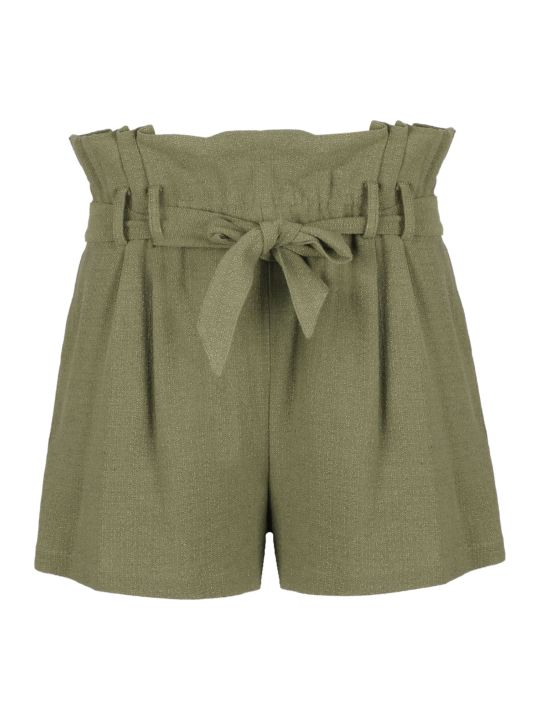 IRO Flared Tie Waist Shorts