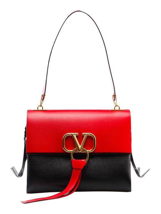 Valentino Garavani Medium V Ring Shoulder Bag