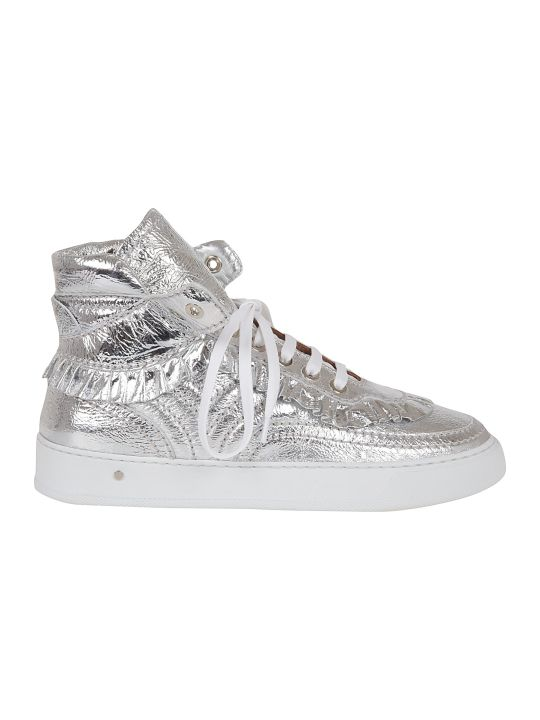 Laurence Dacade High-cut Metallic Sneakers