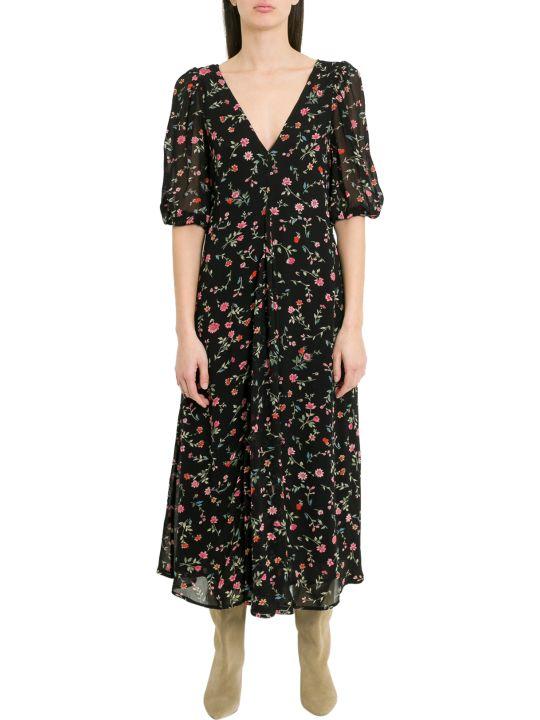 Ganni Elm Long Dress