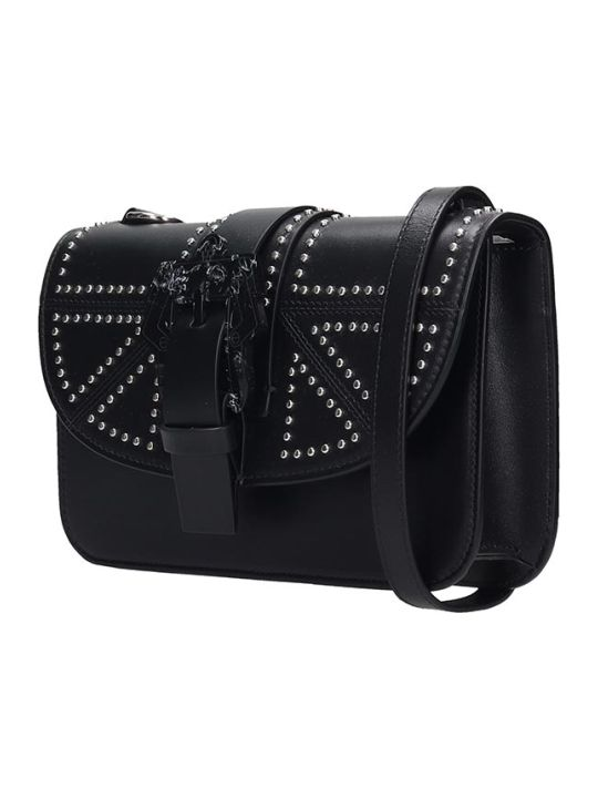 Paula Cademartori Shoulder Bag In Black Leather