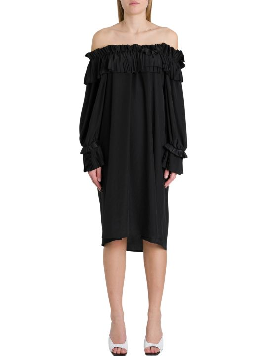 Parosh Off-the-shoulder Dress With Ruffles