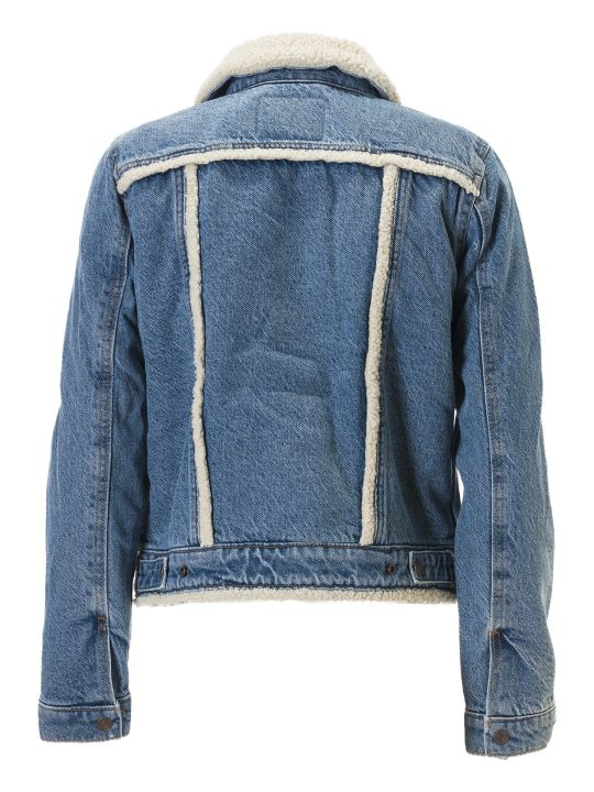 Levi's Fur Collar Denim Jacket