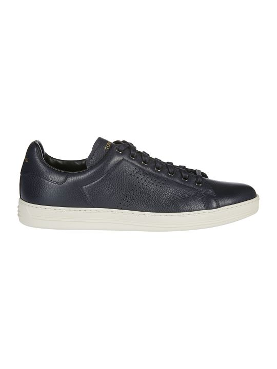 Tom Ford Warwick Grained Sneakers