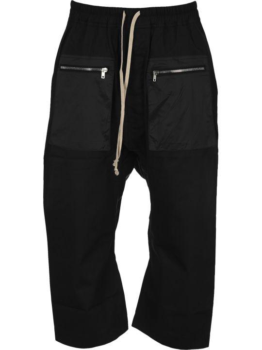 DRKSHDW Dark Shadow Cargo Drawstring Cropped Pants