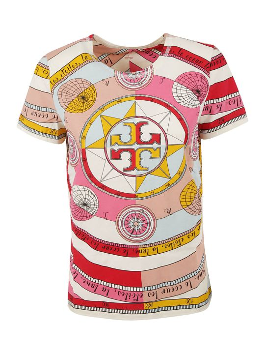Tory Burch Graphic Printed T-shirt