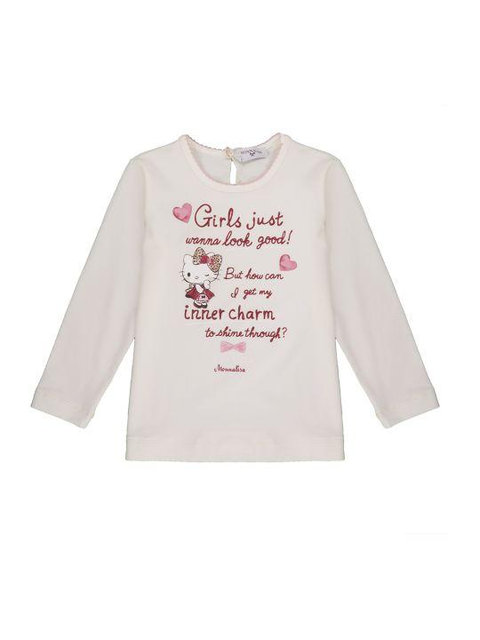 Monnalisa T-shirt St.scritte