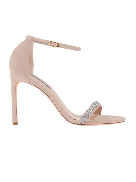 Stuart Weitzman Sandal With Crystals