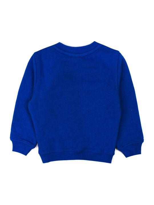 Kenzo Blue Cotton Sweatshirt
