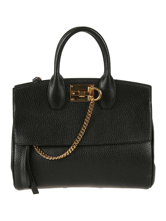 Salvatore Ferragamo Chain Detail Tote