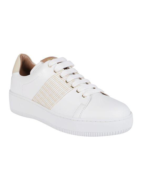Agnona Stitch Detail Sneakers