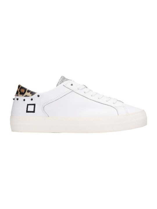 D.A.T.E. Curve  Sneakers In White Leather