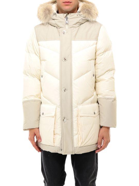 Woolrich Logo Arctic Parka Jacket