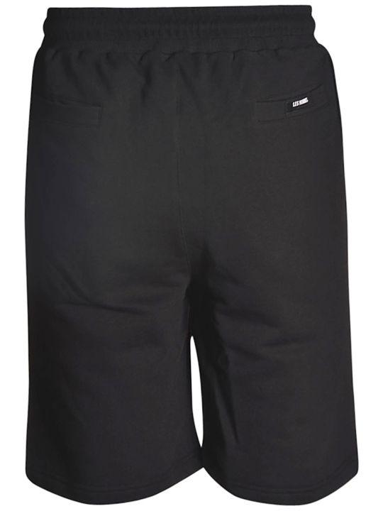 Les Hommes Contrast Pocket Track Shorts