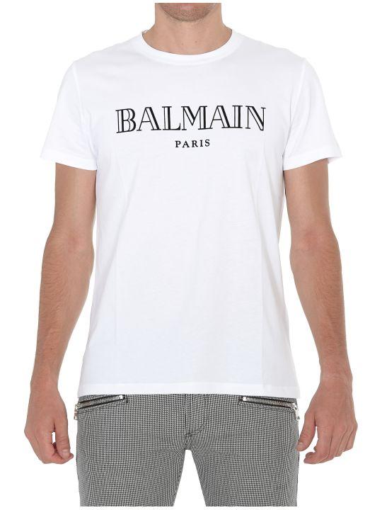 Balmain Logo Balmain Paris T-shirt