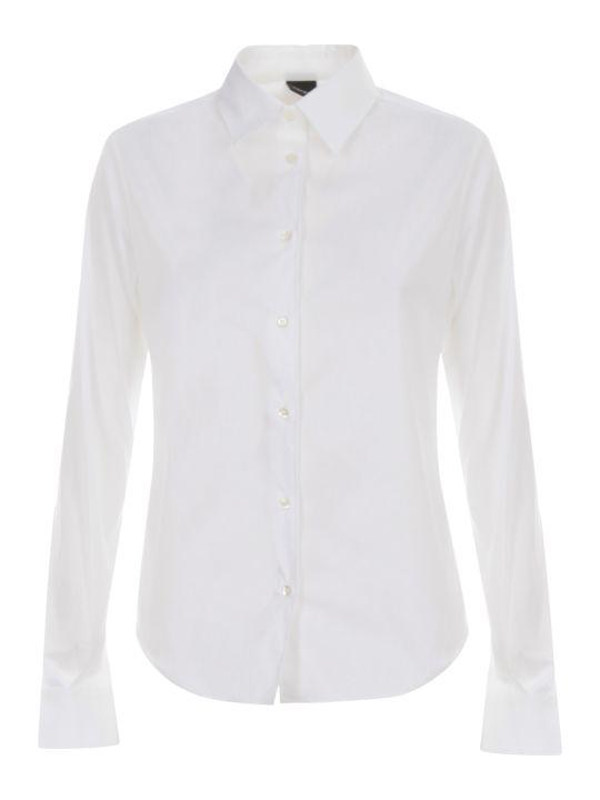 Aspesi Stretch Popeline Shirt L/s
