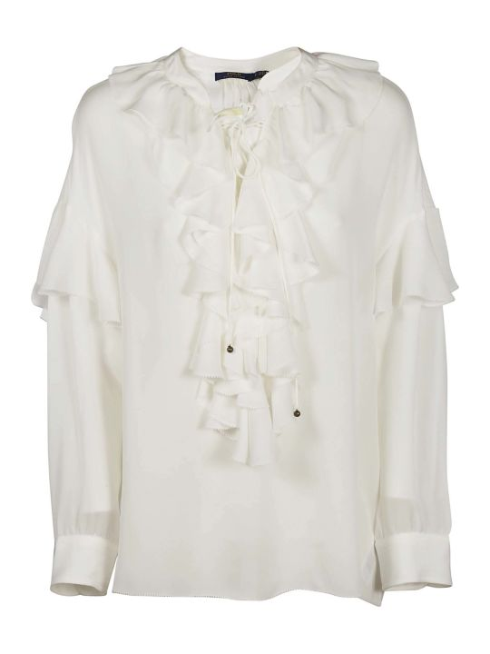 Ralph Lauren Ruffled Top
