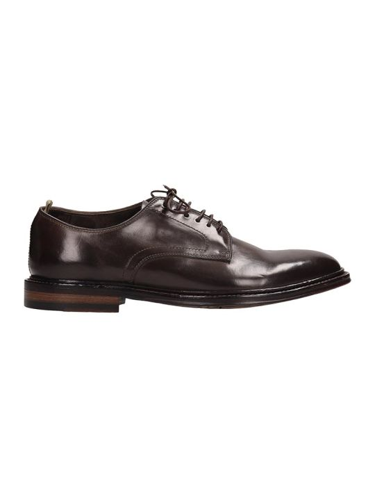 Officine Creative Browne Leather Lace Up Shoes