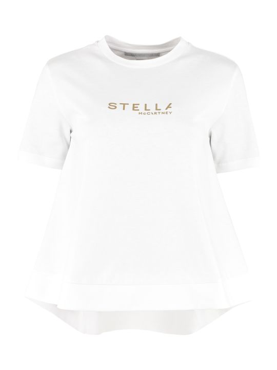 Stella McCartney Crew-neck Cotton T-shirt