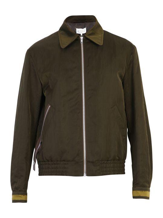Maison Margiela Zipped Nylon Jacket