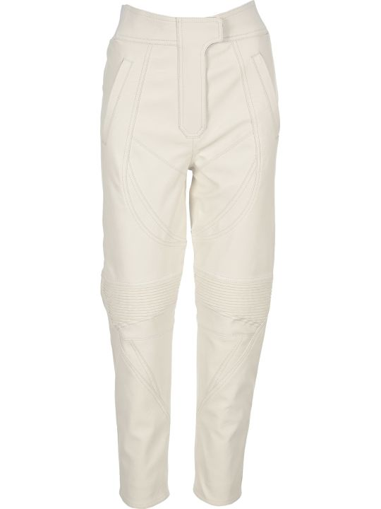 Stella McCartney Faux Leather Biker Pants