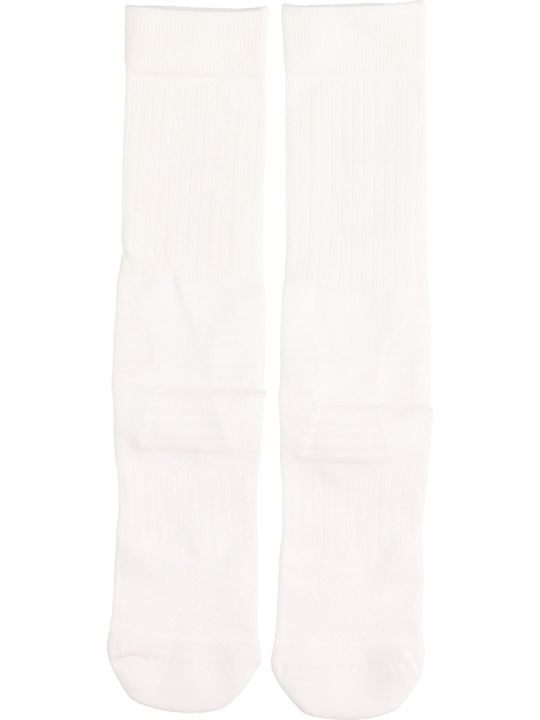 Y-3 White Cotton Socks