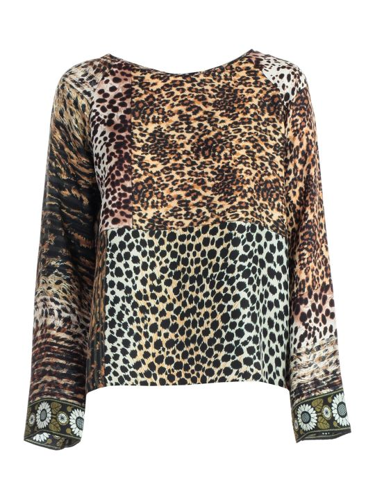 Pierre-Louis Mascia T-shirt Silk Animalier