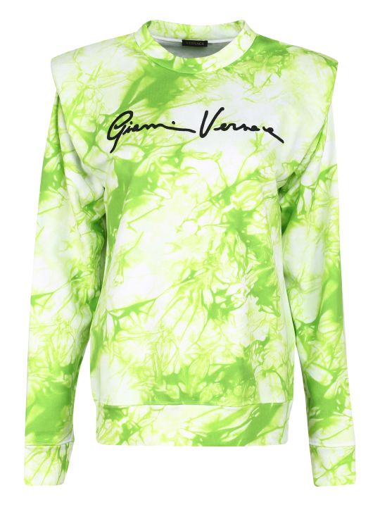 Versace Cotton Crew-neck Sweatshirt