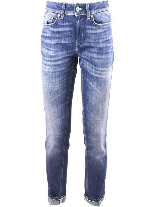 Dondup Light Blue Cotton Jeans