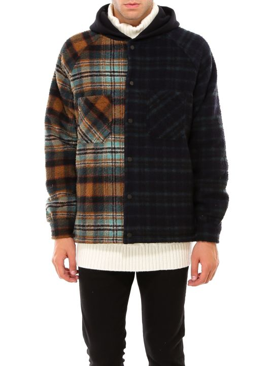 REPRESENT Hooded Flannel Jacket