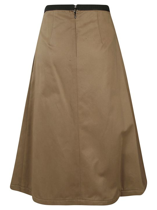 Antonio Marras Rear Zipped Skirt