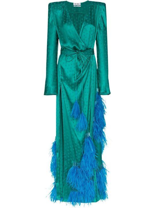 The Attico Stars Jacquard Dress