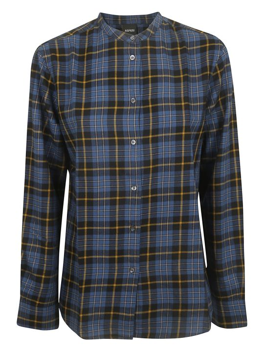 Aspesi Checked Shirt