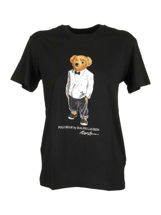 Ralph Lauren Big Fit Tuxedo Polo Bear Tee