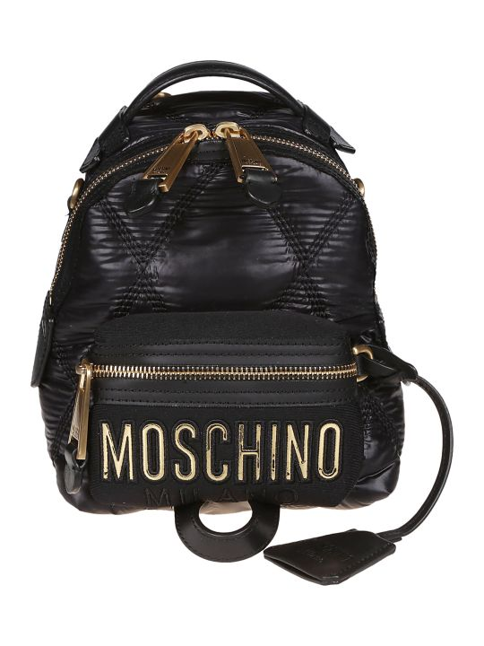 Moschino Small Quilted Backpack