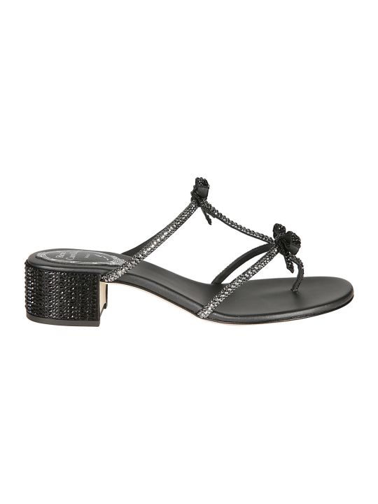 René Caovilla Rene Caovilla Embellished Sandals