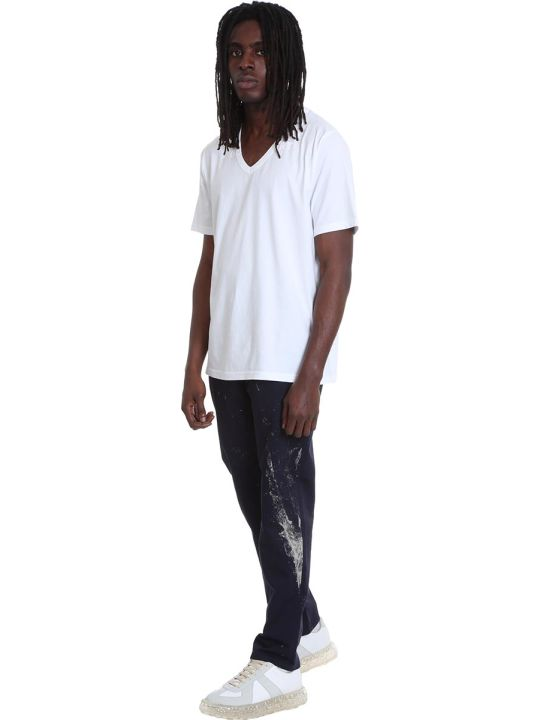 Maison Margiela T-shirt In White Cotton