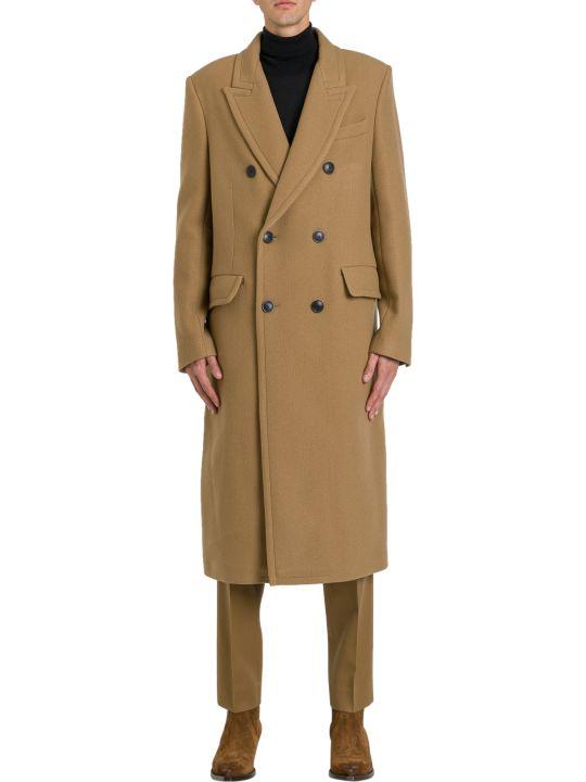 Ami Alexandre Mattiussi Long Double Breasted Coat