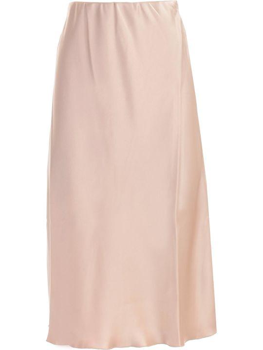 Nanushka Skirt A Line Satin W/knot