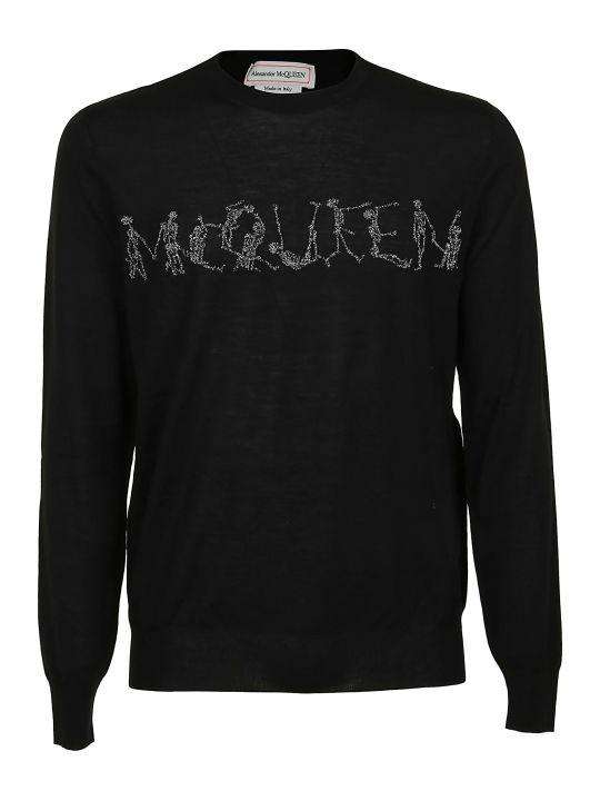 Alexander McQueen Crew Neck Lg Slv