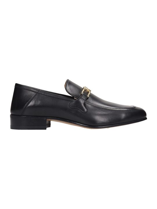 Gucci Loafers In Black Leather