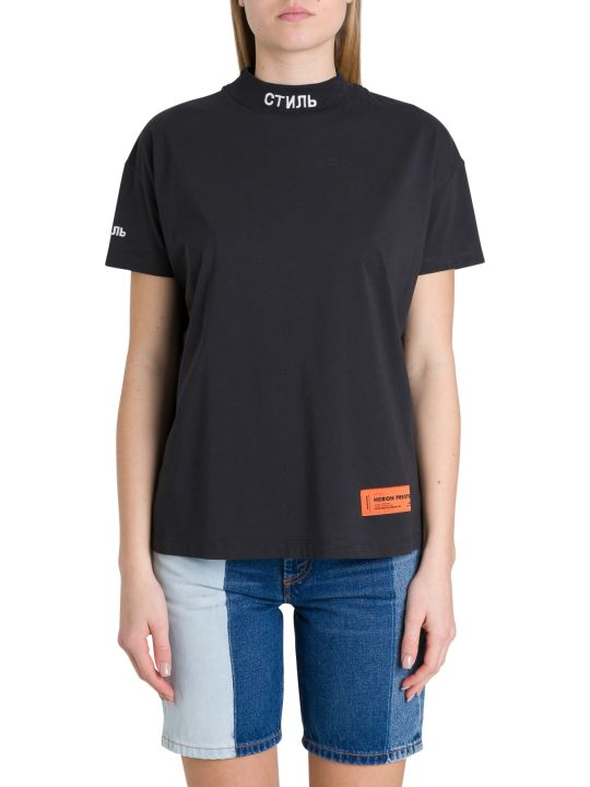 HERON PRESTON Ctnmb Turtleneck Tee