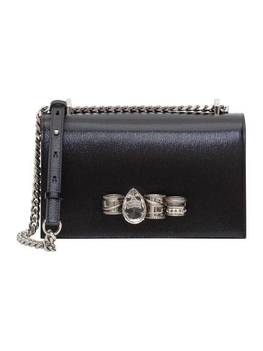 Alexander McQueen Mechanical Jewelled Satchel