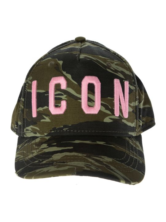 Dsquared2 Icon Camo Print Cap