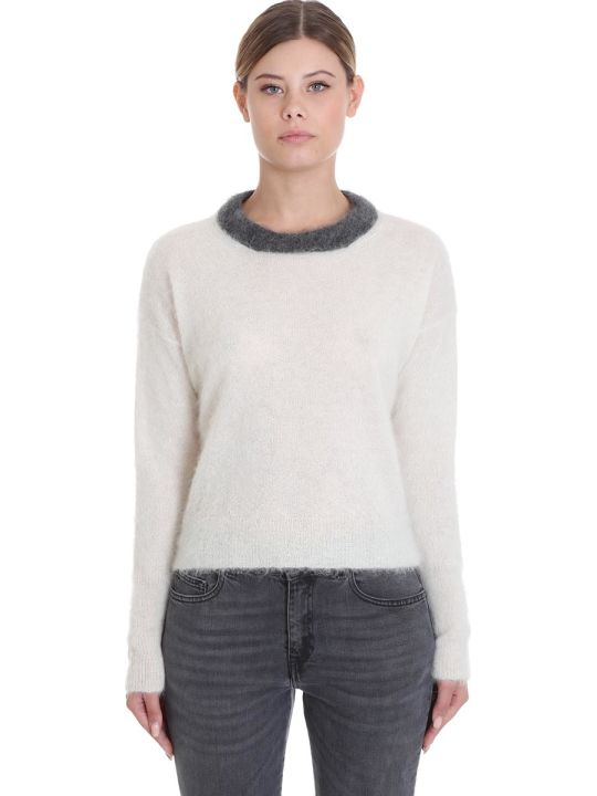 Mauro Grifoni Knitwear In White Wool