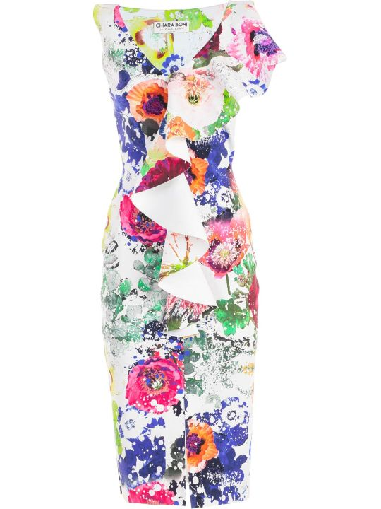 La Petit Robe Di Chiara Boni Chiara Boni La Petite Robe Boudicea Print Dress