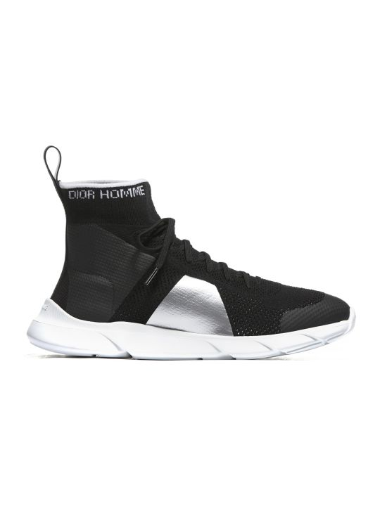 Dior High Ankle Sock Sneakers