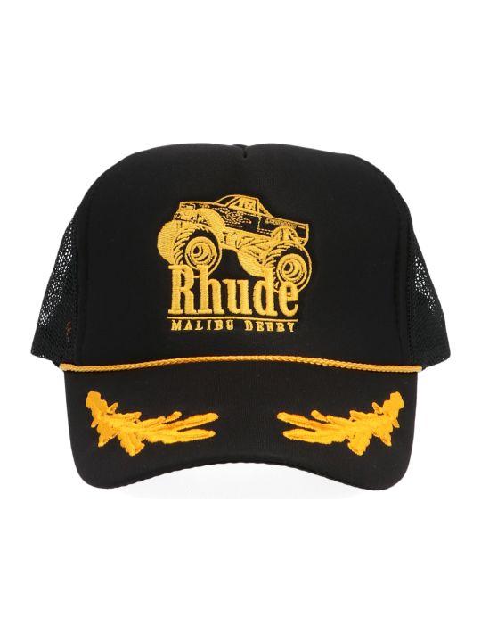 Rhude 'maliby Derby Trucker' Cap