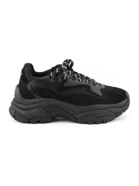 Ash Black Nappa Addict03 Sneaker