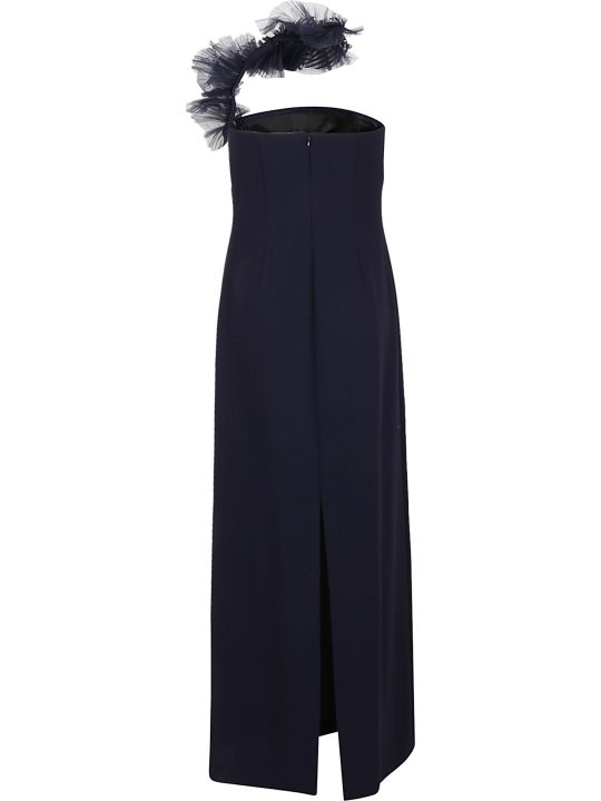 Ralph Lauren Black Label Lowell Eve-sleeveless-evening Dress